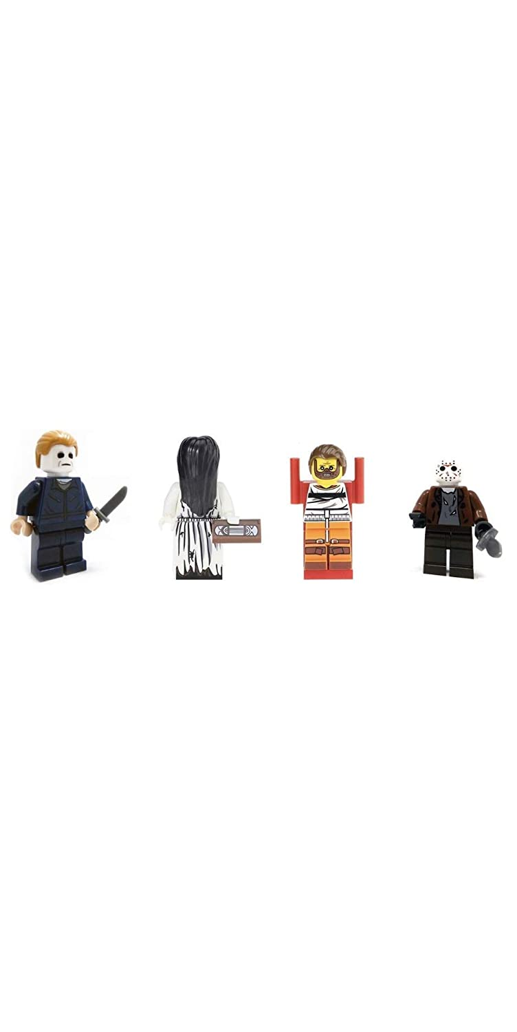 It horror movie Friday 13th Clown Pennywise minifigur Compatible Set Pour Lego