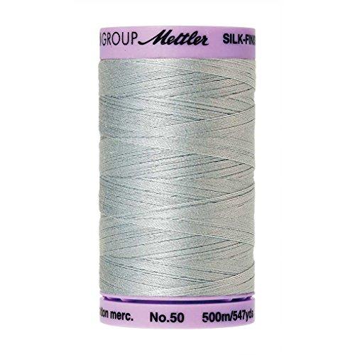 - Mettler Silk-Finish Solid Cotton Thread, 547 yd/500m, Moonstone