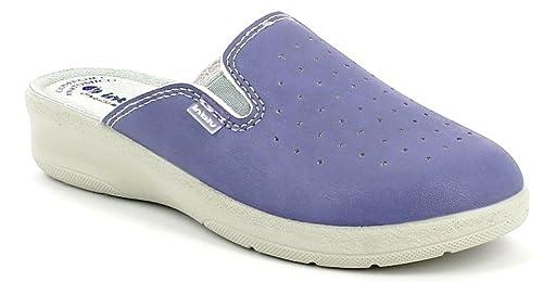 INBLU Pantofole Ciabatte SANITARIE da Donna MOD. 50-34 Glicine (36) e6dbf951340