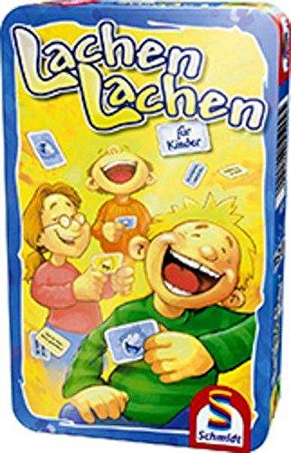 Schmidt Spiele - Lachen lachen, für Kinder, Metalldose
