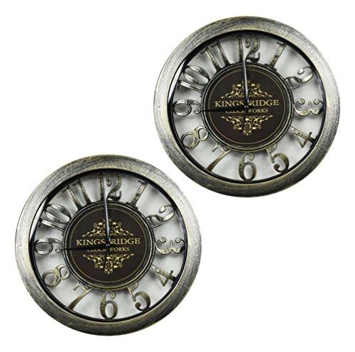 Set of 2 KingsBridge ClockWorks 11
