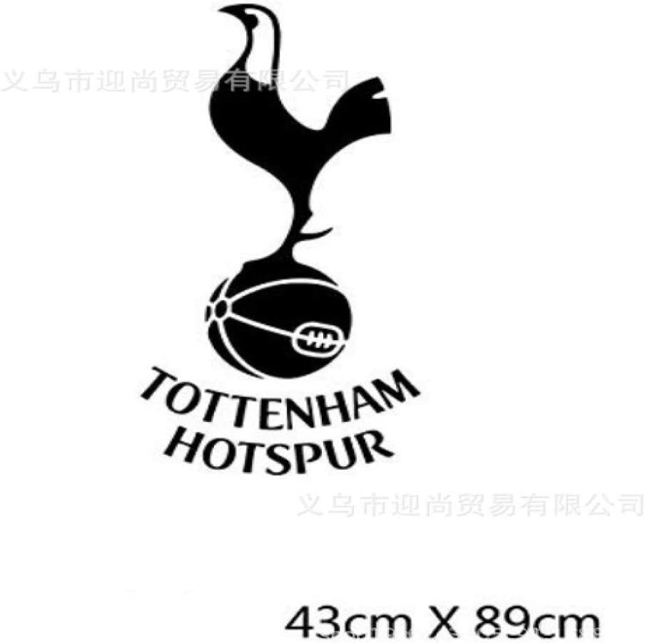 Creative Tottenham Hotspur Team Logo Pattern Wall Sticker Decorative Bedroom Living Room 43x89cm Amazon Co Uk Diy Tools