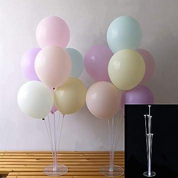 Amazon.com: Swovo - Soporte para globos de mesa con base de ...