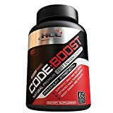 CODE BOOST Natural Premium Testosterone Booster for Men, Enhance Libido, Vitality & Muscle Growth for Increased Strength & Energy, Top Booster Supplement