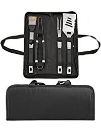 Win 5 Piece Gourmet BBQ Grilling Tool Set occupation