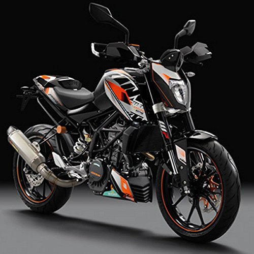 ktm duke 125 decals storeiadore. Black Bedroom Furniture Sets. Home Design Ideas