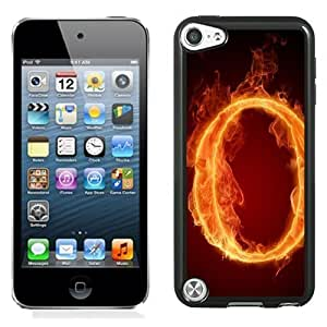 Designed For Iphone 5/5S Case Cover Burning Letter O Phone
