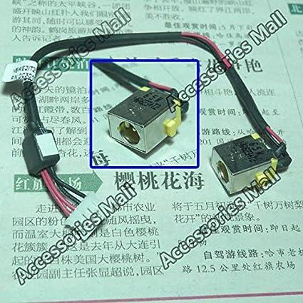 Computer Cables 1-10 pcs Laptop DC Power Jack for Gateway NV570 NV570P09u NV570P26u DC30100NK00 DC Jack Cable Length: 2 PCS