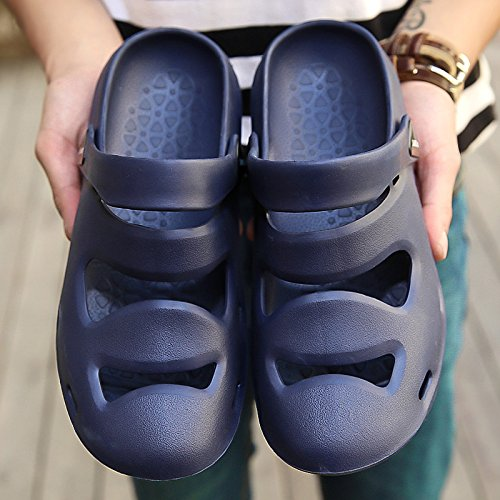 trascinare tendenza da uomo di casa all'aperto Pantofole pantofole della coreana luce coperta 44 BAOZIV587 marina pantofole di uomo estate Casa sandali e parola da versione estate wv6qI1Rfx