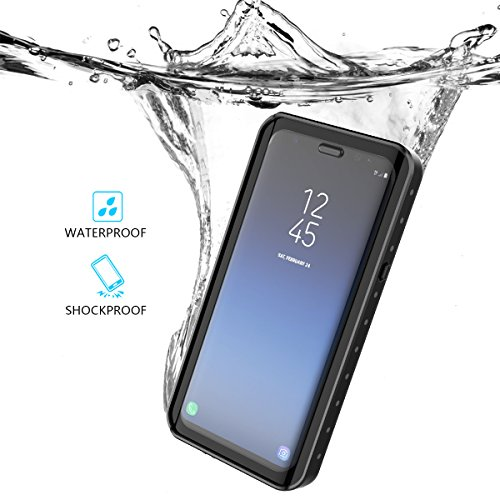 Samsung Galaxy S9 Plus Waterproof Case, CaseFirst Full Sealed IP68 Cover Snowproof Shockproof Dirtproof IP68 Certified Case Dual Protector Wireless Charging Case for Samsung Galaxy S9 Plus