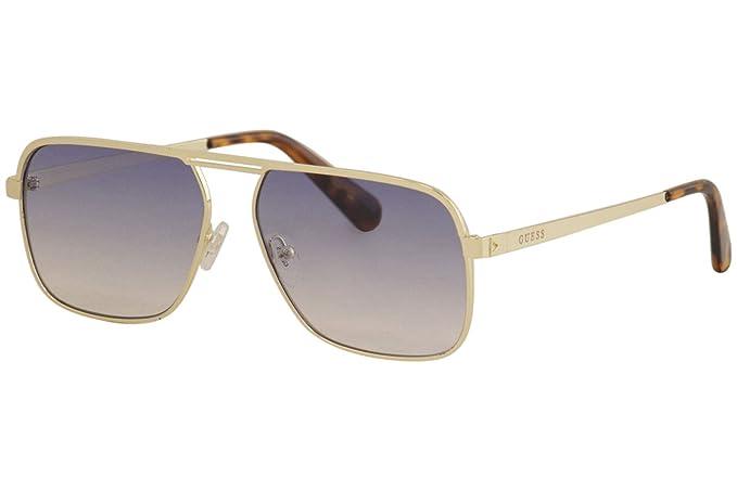 Amazon.com: Gafas de sol Guess GU 6939 32 W dorado/azul ...