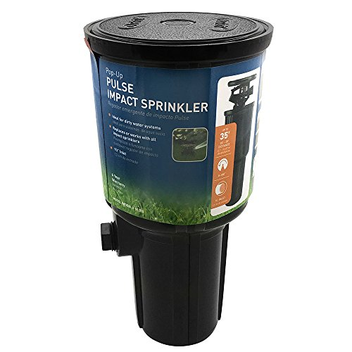 Orbit 55200 Pop Up Sprinkler Coverage