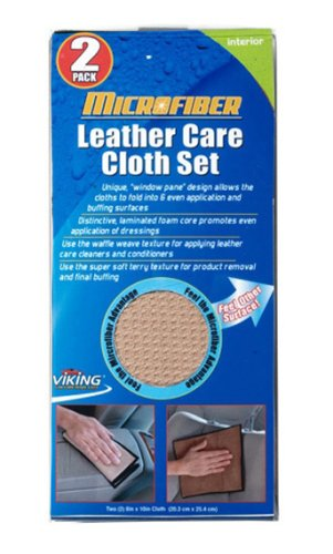 Viking Microfiber Leather Care Cloth - 2 Pack (Viking Clothes For Sale)