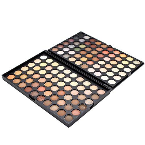 120 Colors Warm Full Colour Eyeshadow Makeup Palette Kit Set (120 Full Color Palette)