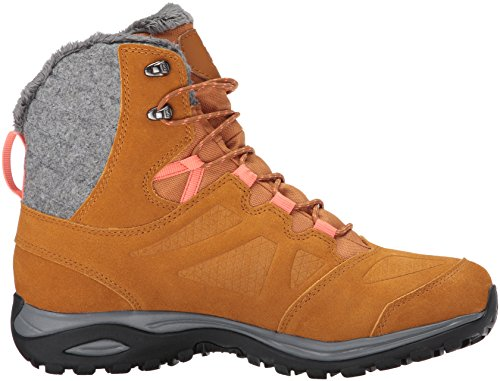 Salomon Ellipse Winter Gtx, Chaussures de Randonnée Basses Homme Multicolore - Marron/corail (Rawhide Ltr/Rawhide Ltr/Living Cora)