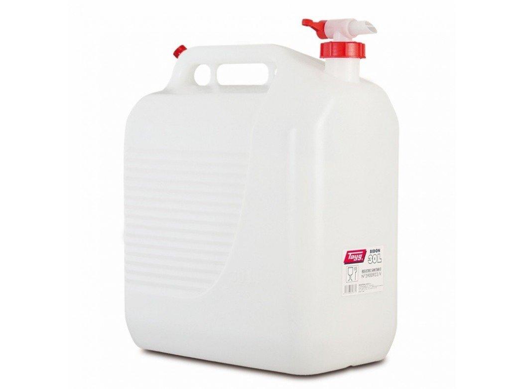 Tayg 604362 - Tanica Per L'Acqua Con Rubinetto Brevettato Senza Gorgoglio, Capacità 30 Litri Capacità 30 Litri