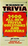 In Search of Trivia, Jeff Rovin, 0451133137
