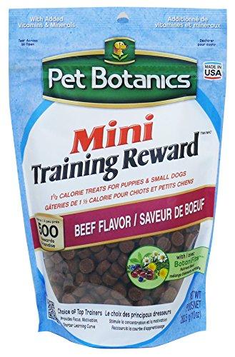 Chews Mini Soft (Pet Botanics 10 Oz Training Reward Beef Treats For Dogs, Mini)