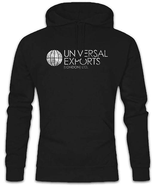 Universal EXPORTS Hoodie Sudadera con Capucha Sweatshirt - fábrica Consorcio Grupo Emblema Tamaños S - 2XL: Amazon.es: Ropa y accesorios