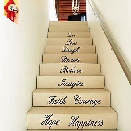 Amazon.com: FANGLEE Love Live Laugh Dream Believe Imagine Faith ...
