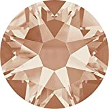 2000, 2058 & 2088 Swarovski Flatback Crystals Non Hotfix Light Peach | SS20 (4.7mm) - Pack of 1440 (Wholesale) | Small & Wholesale Packs | Free Delivery