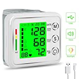 Best Wrist Blood Pressure Monitors - Wrist Blood Pressure Monitor,MOICO Voice Broadcast Automatic Digital Review