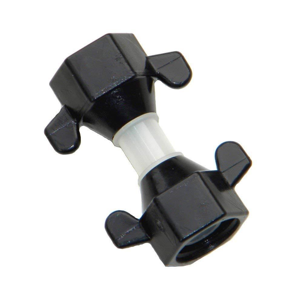 Shurflo 2088 Straight Adapter - 1/2''-14 F-NPT Swivel Nut X 1/2''-14 F-NPT Swivel Nut, Nylon, P/N 244-2866 by SHURFLO