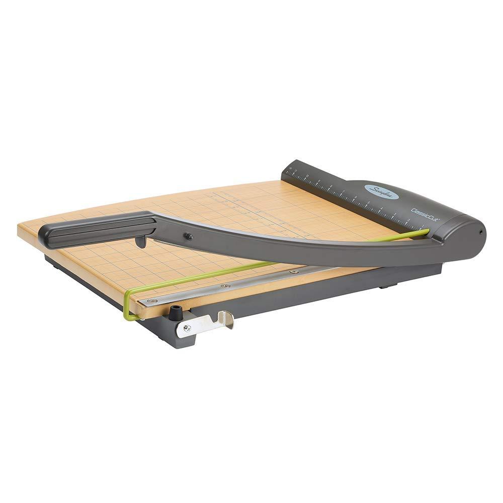 Swingline Paper Trimmer, Guillotine Paper Cutter, 15'' Cut Length, 15 Sheets Capacity, ClassicCut Pro (9115) (Renewed)
