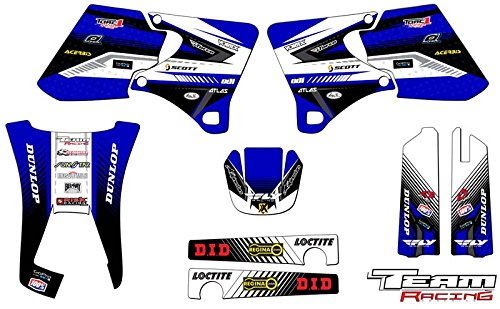 Team Racing Graphics kit for 1998-2002 Yamaha WR 250F/426F, ANALOG Base kit