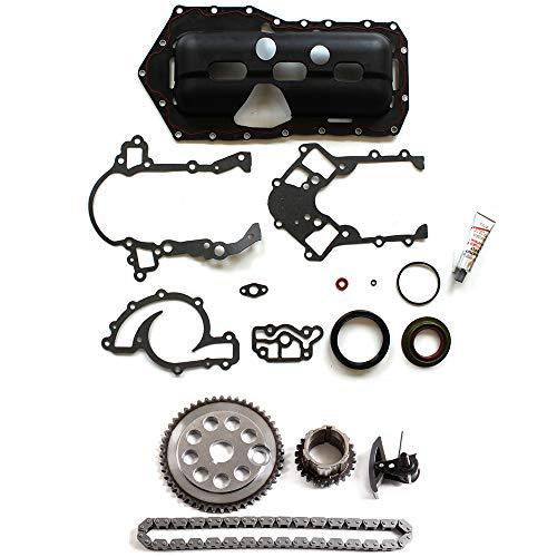 SCITOO Timing Chain kit Head Gasket Set Fits 1995-2003 Buick Park Avenue,1995-2002 Chevrolet Camaro,1998-2003 Pontiac Grand Prix,1996-2003 Buick Lesabre -