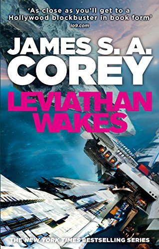 Leviathan Wakes. The Expanse vol 1 book cover