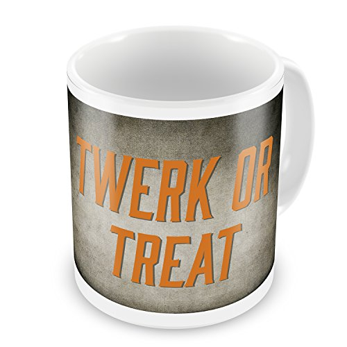 Coffee Mug Twerk or Treat Halloween Spooky Design - NEONBLOND -