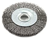 Forney 72748 Wire Wheel Brush, Fine Crimped with