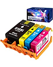 910XL Ink Cartridge, BAALAND Remanufactured Repalcement for HP 910 XL Combo Pack Work with Hp Printer OfficeJet 8025e 8035e 8025 8035 8028 8022 8020 (BCMY, 4 Pack)