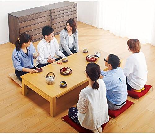 天然木折れ脚伸長式テーブル 幅150cm 713444(サイズはありません イ:ナチュラル)