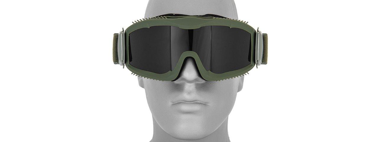 Fuel Helmets Open Face Helmet with Shield Gloss Black