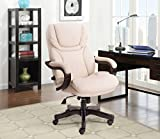 Serta 43506B Executive Office Chair, Ivory