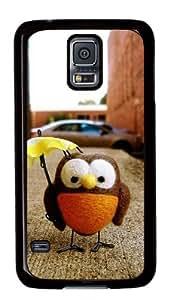 Sakuraelieechyan Cute Owl Toy Samsung Galaxy S5 Black Sides Hard Shell Case by ruishername
