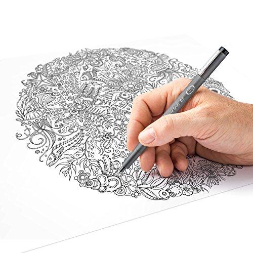 Staedtler 308 SB6P VE Pigment Liner 308 16 x 6 (4+2 Free) Black Pigment Ink Felt Tip Pens for Sketching/Drawing 0.5/0.1/0.2/0.3/0.5/0.8 mm by STAEDTLER (Image #4)