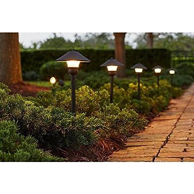 Low-Voltage LED Bronze Outdoor Light Kit (8-Pack)
