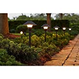 Low-Voltage LED Bronze Outdoor Light Kit (8-Pack)