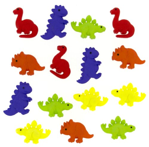 "Price comparison product image Dress It Up 7692 ""Tiny Dinos"" Novelty Embellishments"