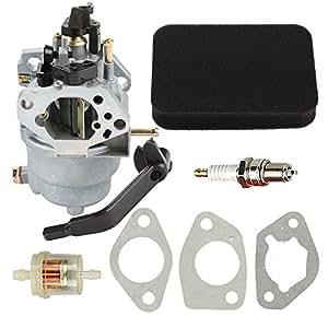 buckbock carburetor with air fuel filter for. Black Bedroom Furniture Sets. Home Design Ideas