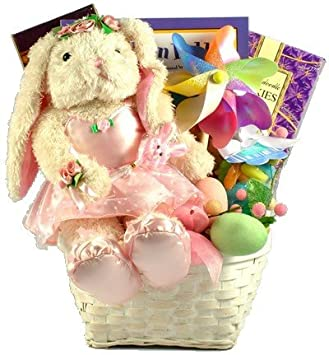 Amazon gift basket village ballerina bunny deluxe easter gift basket village ballerina bunny deluxe easter basket for girls negle Gallery