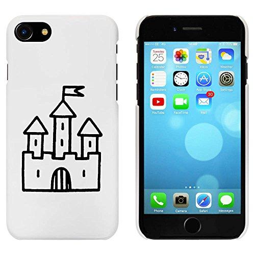 Weiß 'Schloss mit Flagge' Hülle für iPhone 7 (MC00081326)