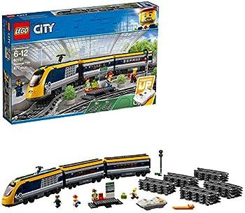 677-Pieces LEGO City Passenger Train Building Kit
