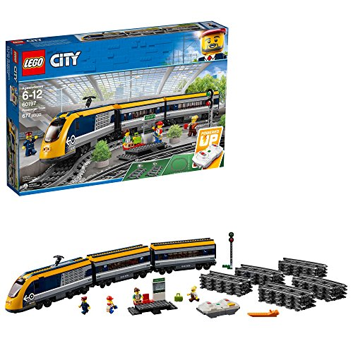 - LEGO City Passenger Train 60197 Building Kit (677 Piece)