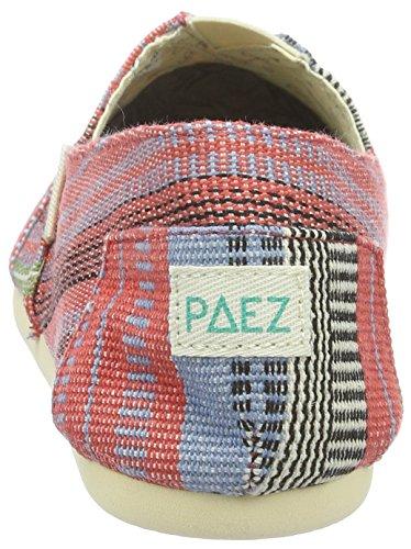 Unisex Multicolore adulto Indie blue Red Eva 0074 Original Arabic Paez Espadrillas Basse Black Ocq4ATfnwC