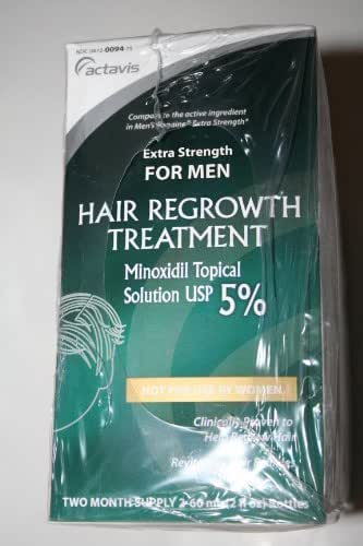 Actavis for Men Hair Growth Treatment 6-month Supply by Activis