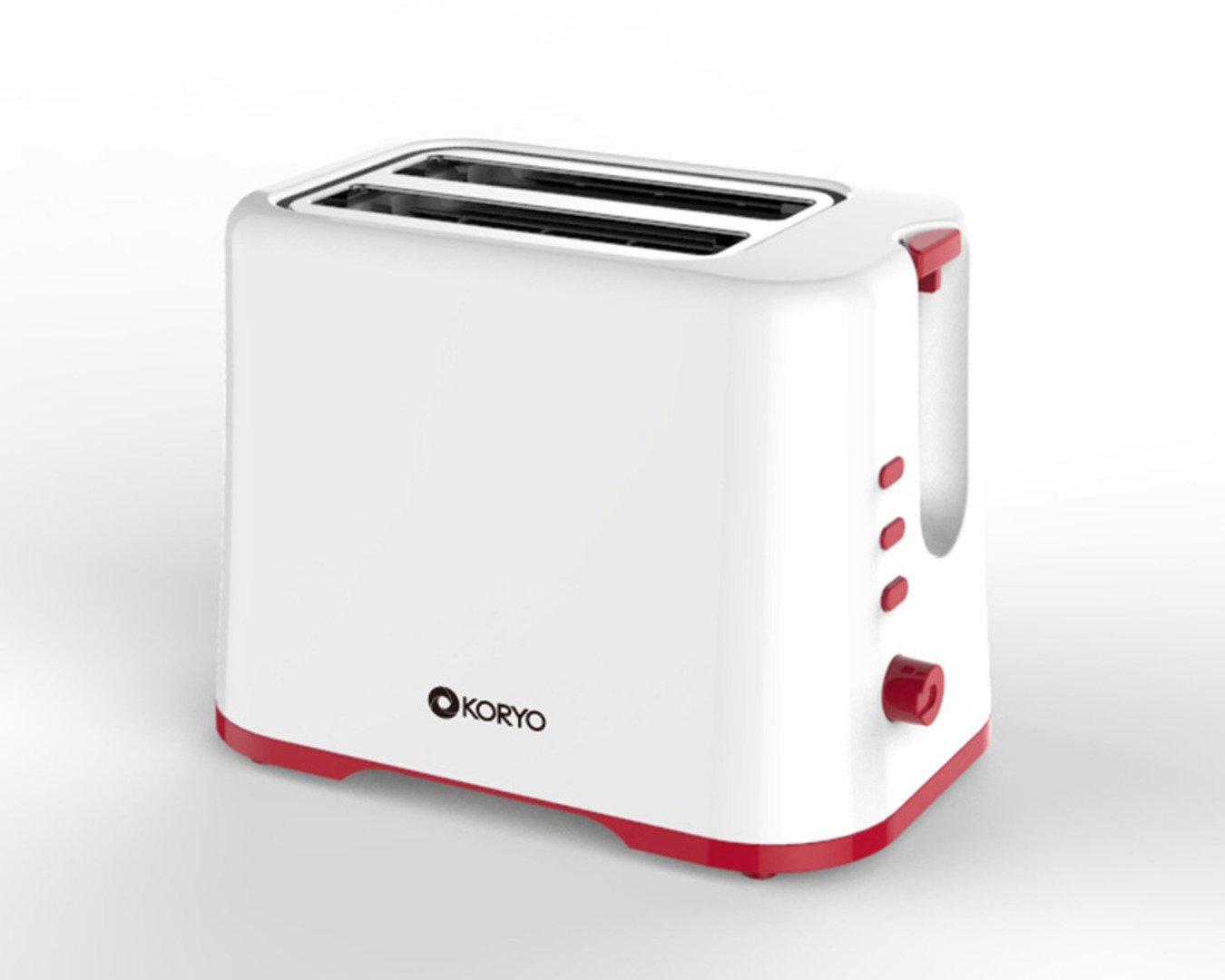 Koryo Pop-up Toaster RKPT925R - Red - 750 watt
